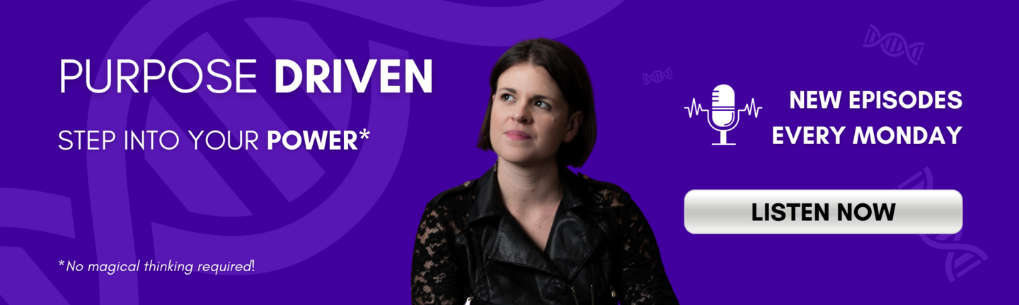 Listen to the purpose driven podcast by Lauren Kress here