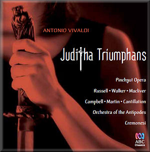 Juditha Triumphans CD Cover