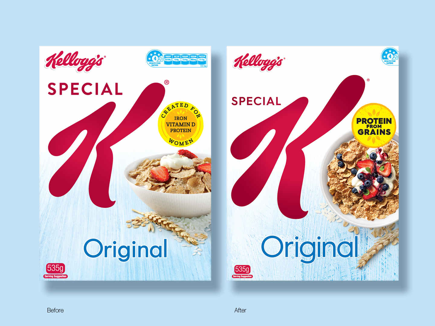 Special K Original Before & After