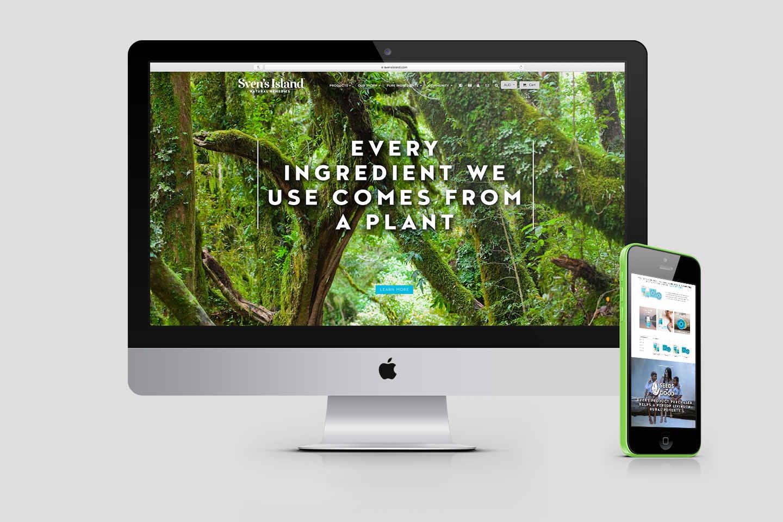 Sven's Island Website