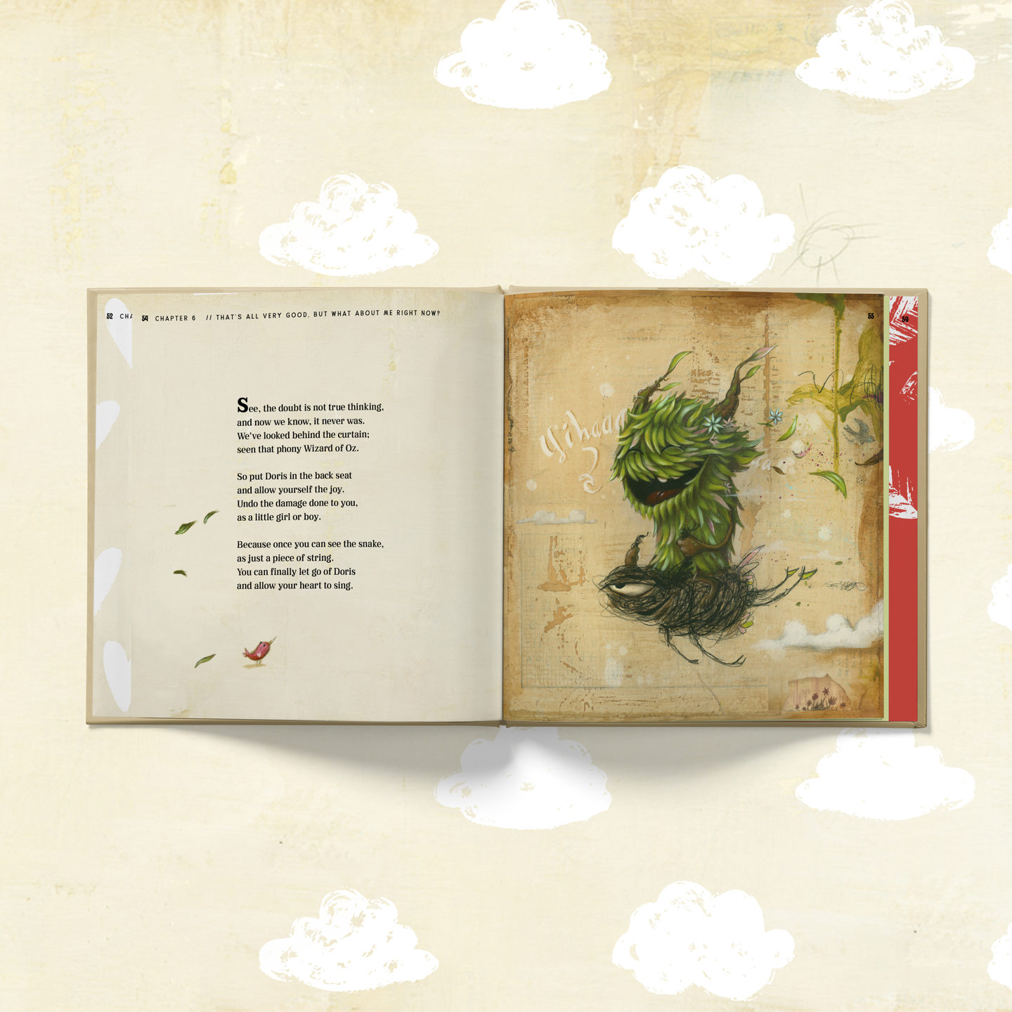 Inner spread Doris Book