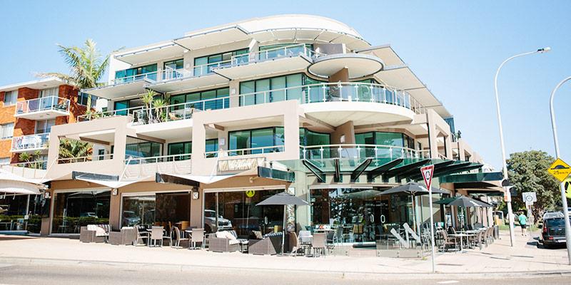 Wildwater Grill Restaurant Exterior | Dee Why Beach Restaurant |  Best Restaurant Near Me