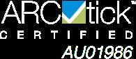 ARCtick Certified
