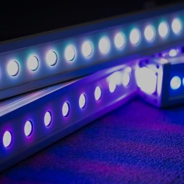 LED linear outdoor lighting sydney