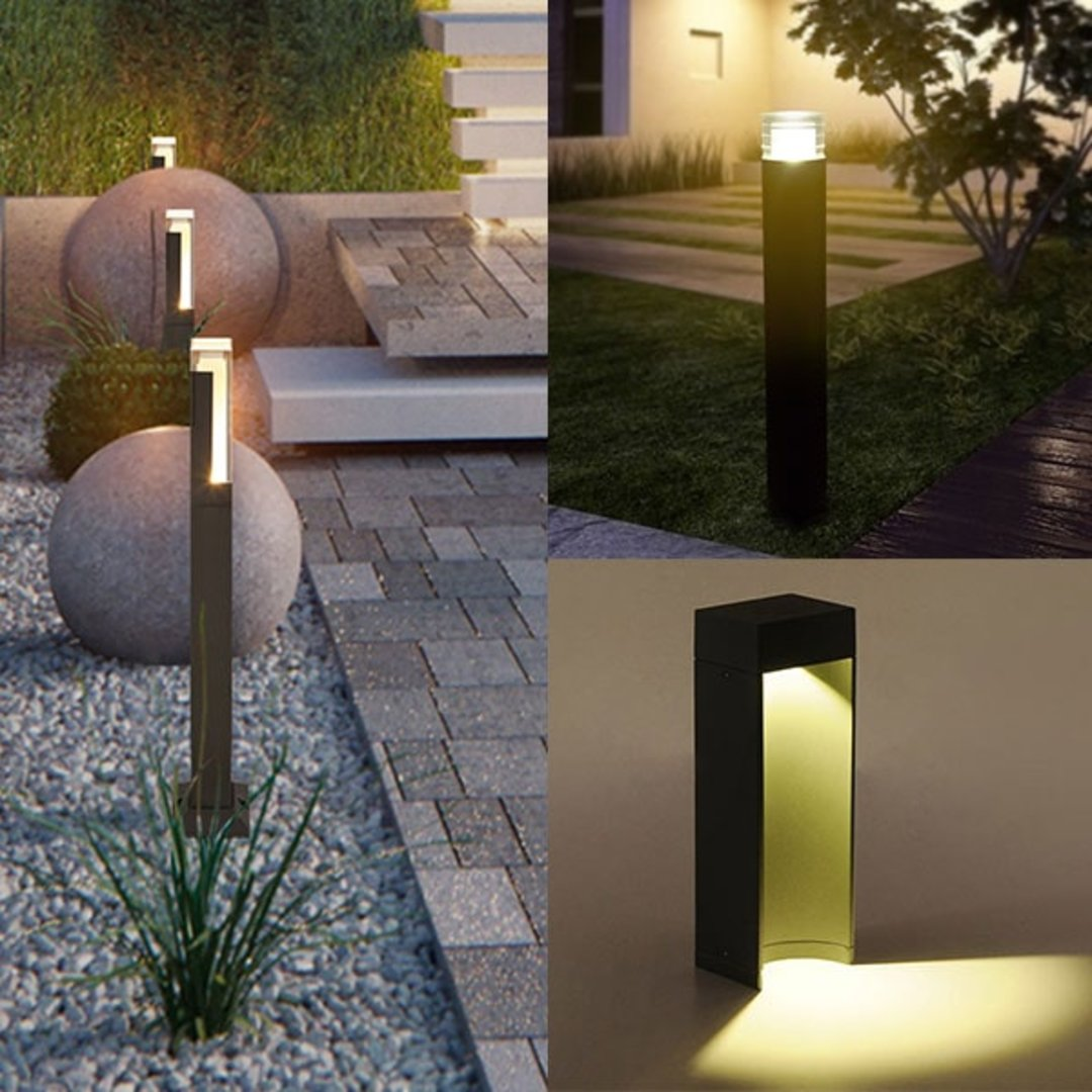 Landscape lighting range welcomes new LED bollard lights