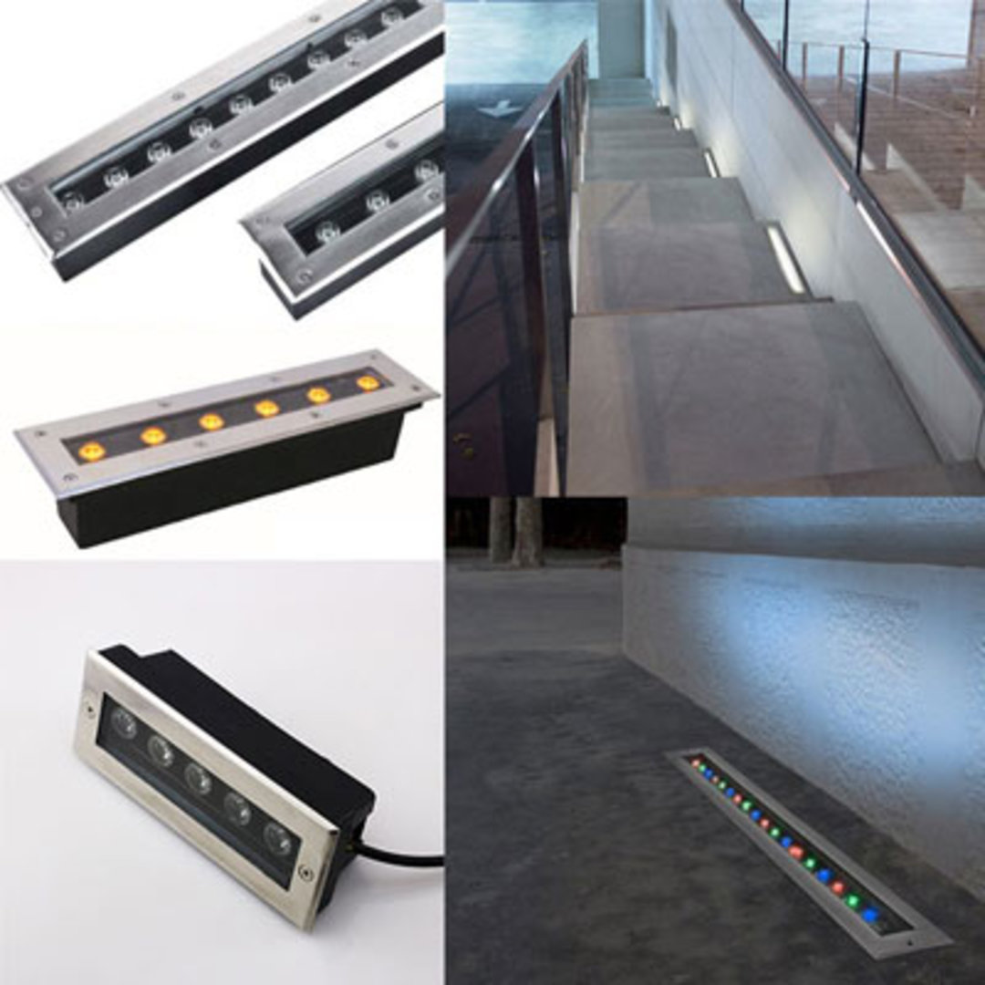 Architectural LED Linear Inground Lighting Products