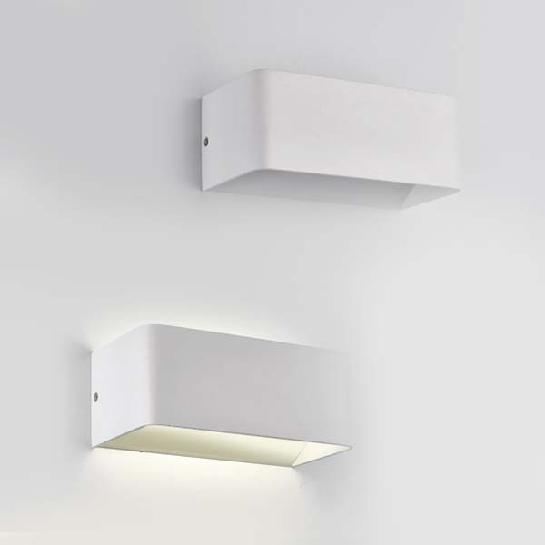 Small Boxed Wall Light, 5W