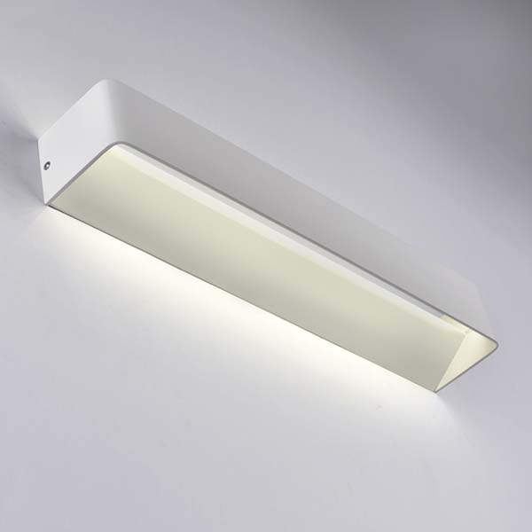 Large Boxed Wall Light, 15W