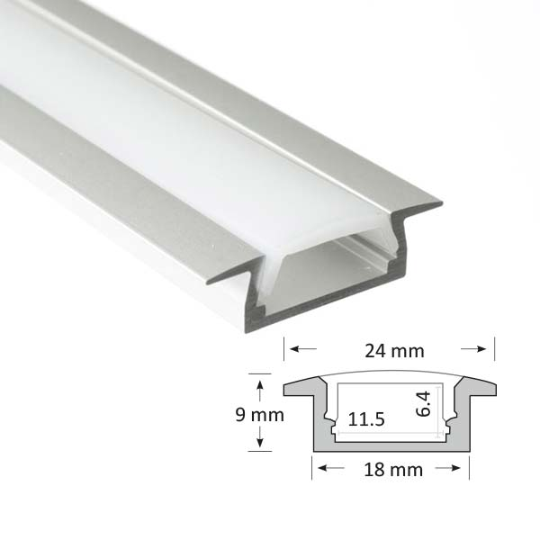 Shallow Recessed Extrusion, 001-R