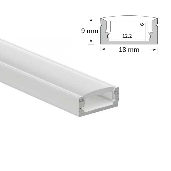 LED Low Profile Extrusion, 002