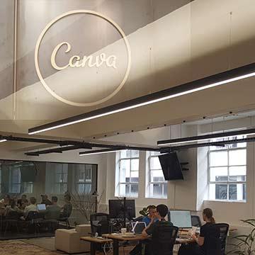 Canva Office Lighting