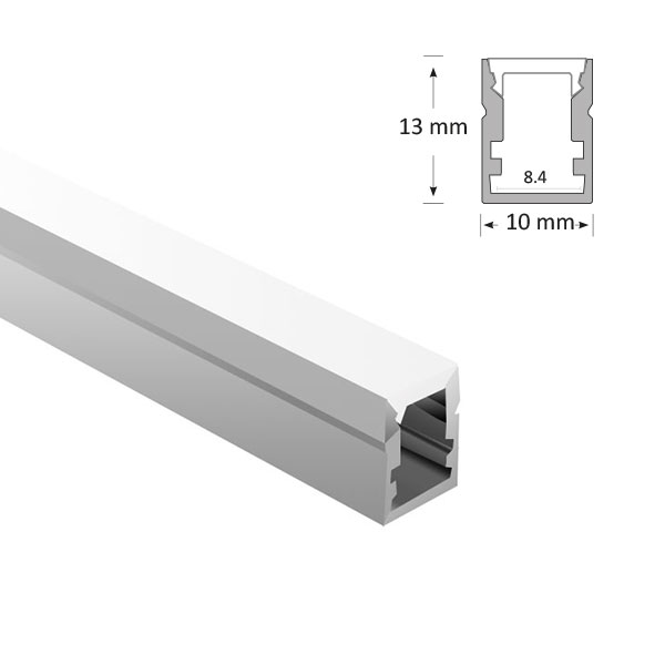Mini Rectangular Extrusion, 044