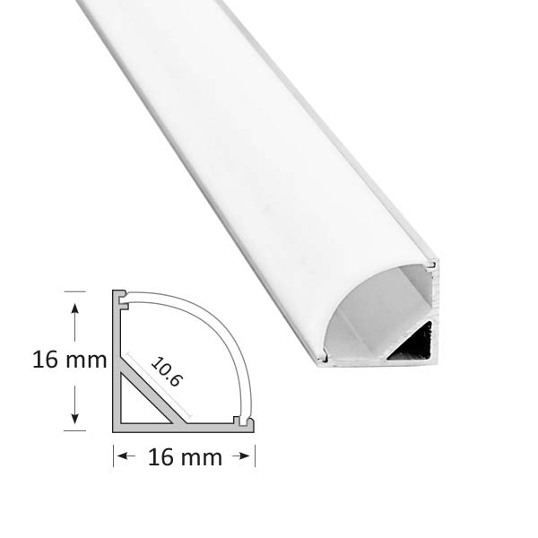 Corner Extrusion with Curved Diffuser, 006