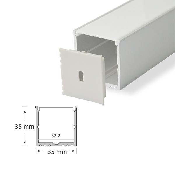 LED Surface Mounted Extrusion, 018