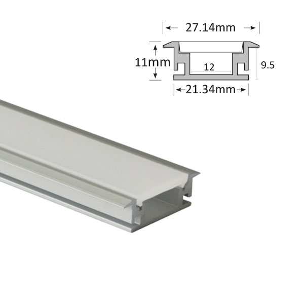 Recessed Floor Extrusion, 048-R