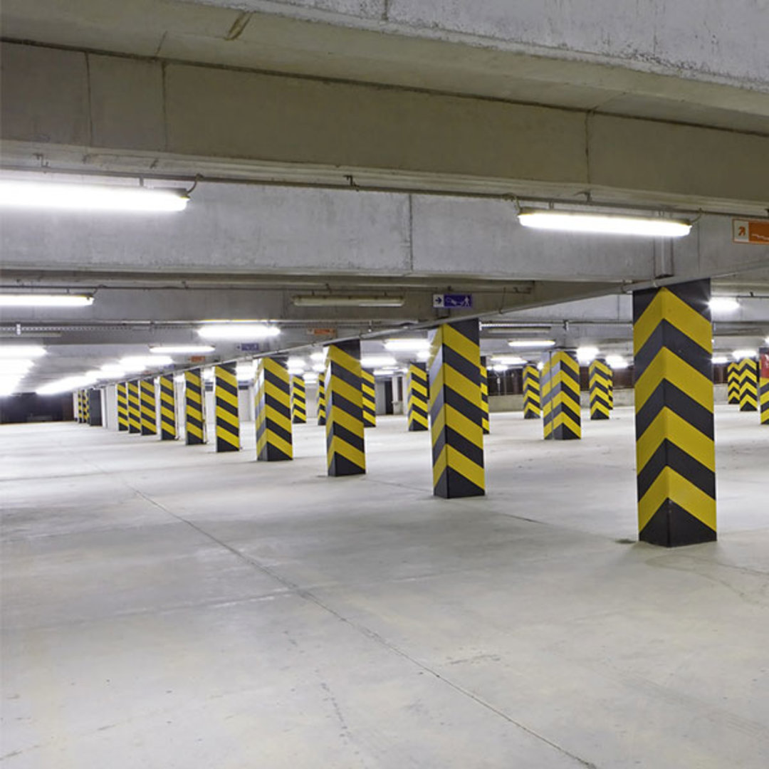 BoscoLighting intelligent LED lighting specially designed for car parks