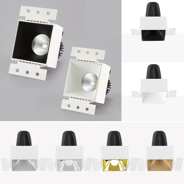 CLK Trimless Square Downlight, 10W