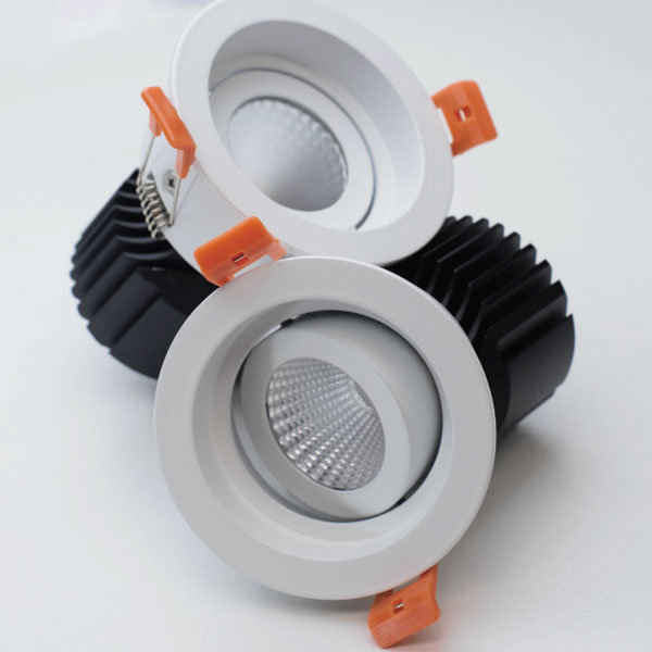 WAH Adjustable Straight Trim Downlight, 15W