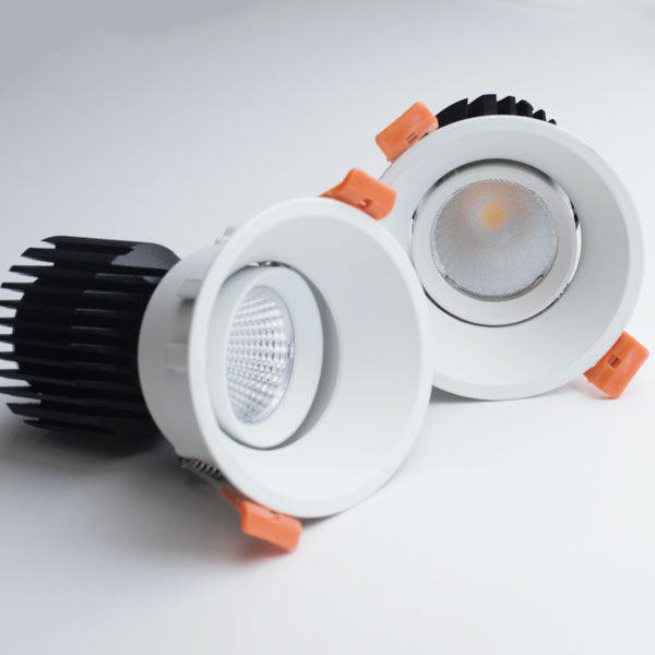 WAJ Adjustable Cone Trim downlight, 10W