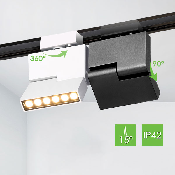 ME600 Linear Track Light, 12W