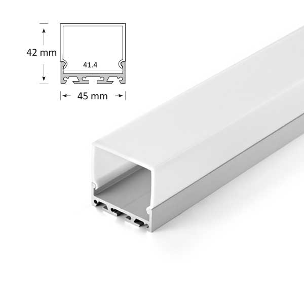 Square LED Extrusion, 068