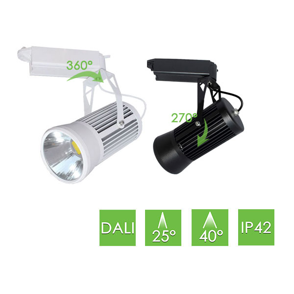 ME201 DALI Track Light, 20W