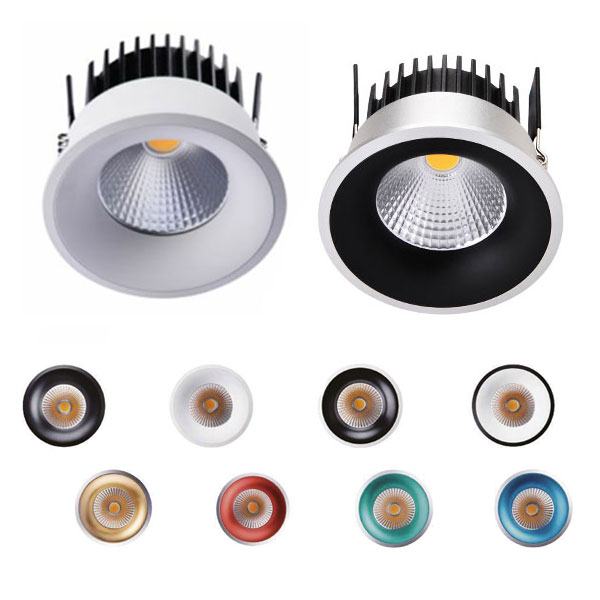 8W RGB Downlights for High-end Development