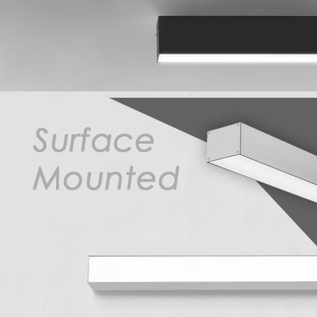Surface Mounted Extrusions Series