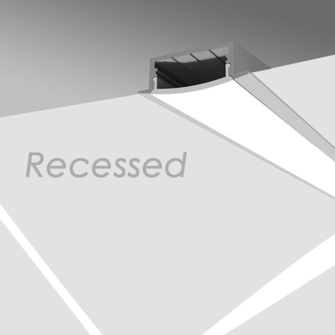 Recessed Extrusions Series