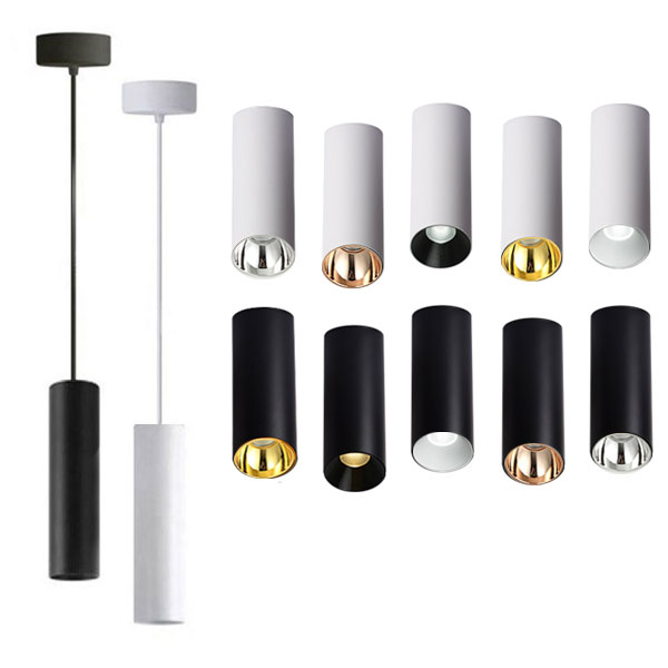 JOJO Cylindrical Pendant Light, 10W