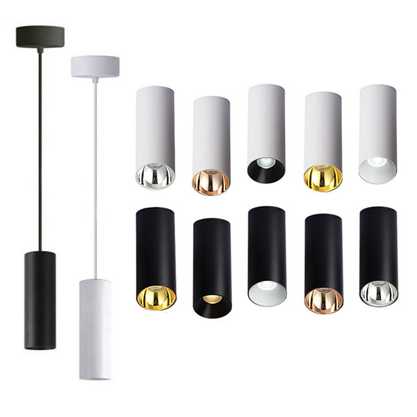 JOJO Cylindrical Pendant Light, 15W