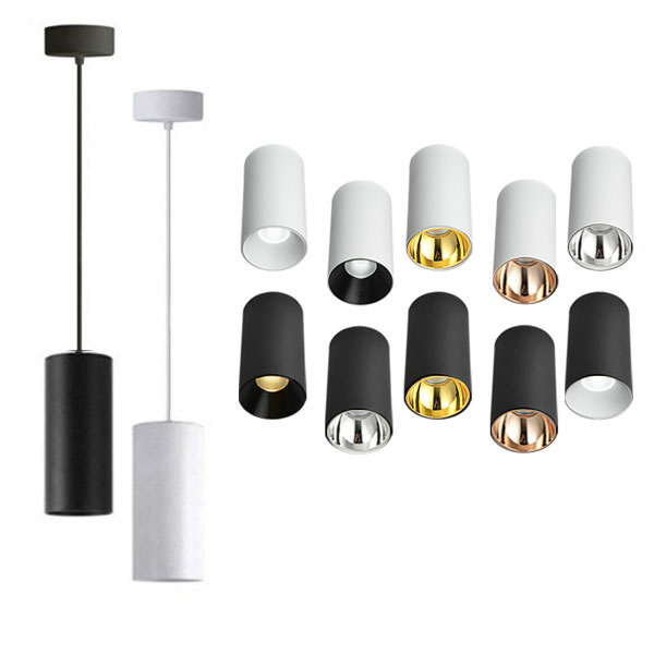JOJO Cylindrical Pendant Light, 20W