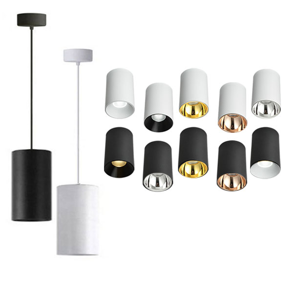 JOJO Cylindrical Pendant Light, 30W