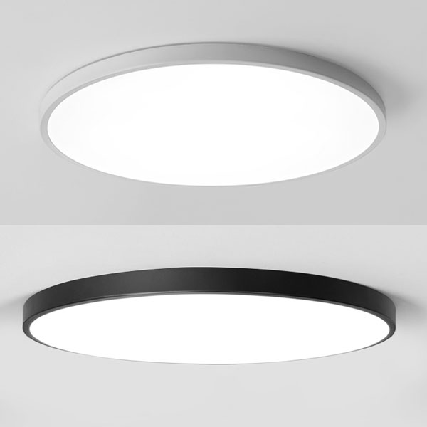 Surface Mounted Ceiling Light With Controller Boscolighting