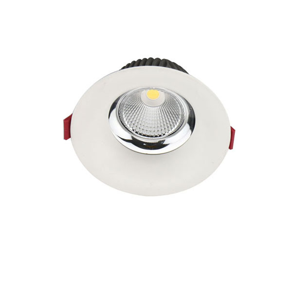 Cured trim downlight for dining rooms