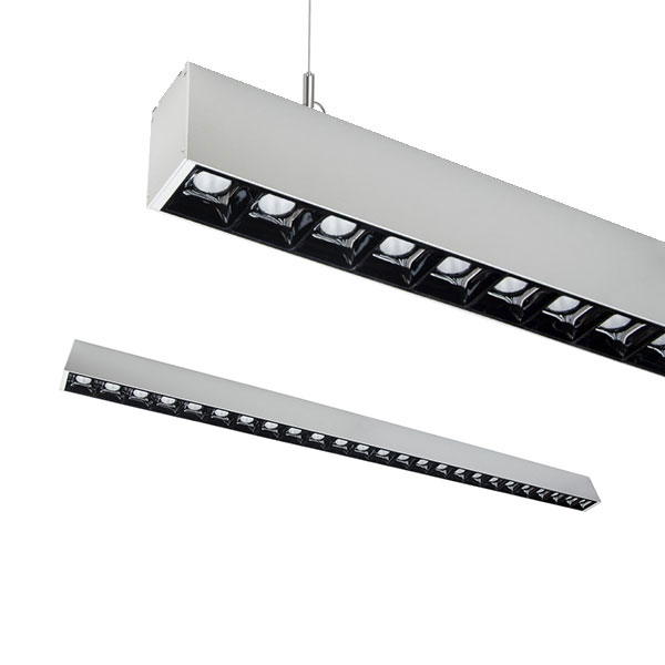 TEX1 Low glare Linear Pendant, 50W