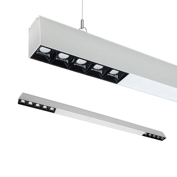 TEX2 Low glare Linear Pendant, 47W