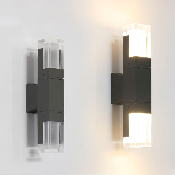 Exterior Updown Wall Light, 5Wx2