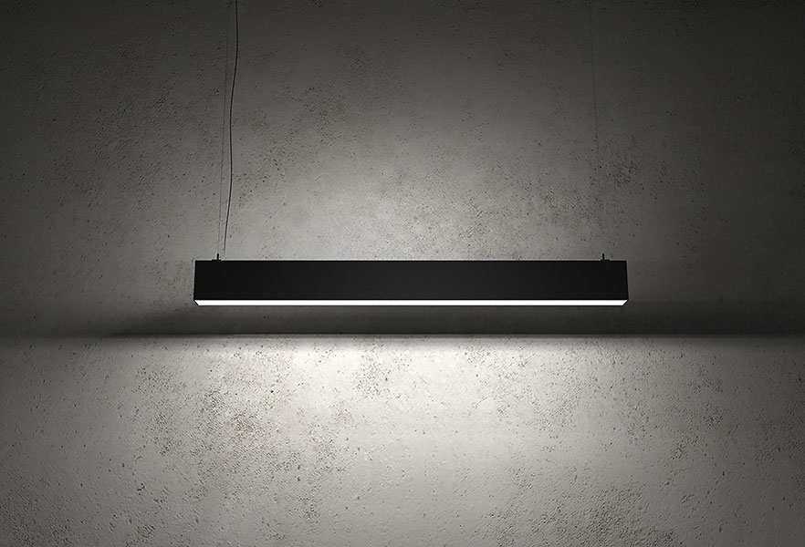 Indirect Office Lighting BLEX-070 Linear Extrusion