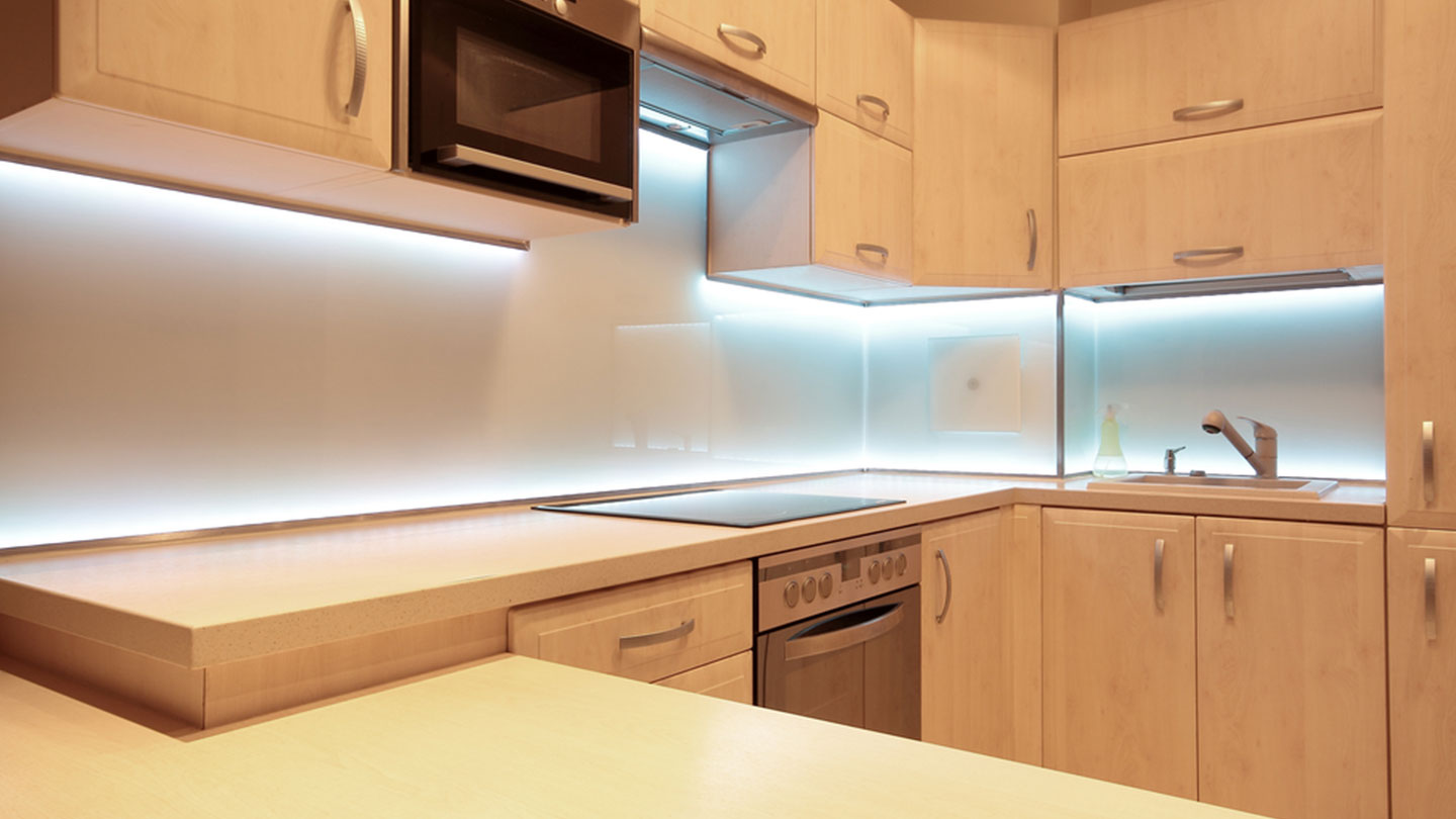 Kitchen led under cabinet lighting