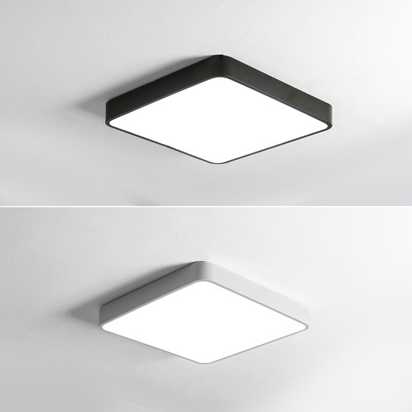 Square Surface Mounted Light with Controller, 32W