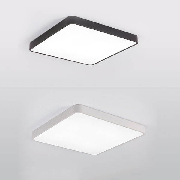 PEGA Square Surface Mounted Light with Controller, 44W