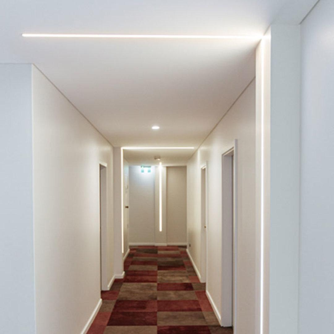 Apartment Corridor Lighting Upgrade