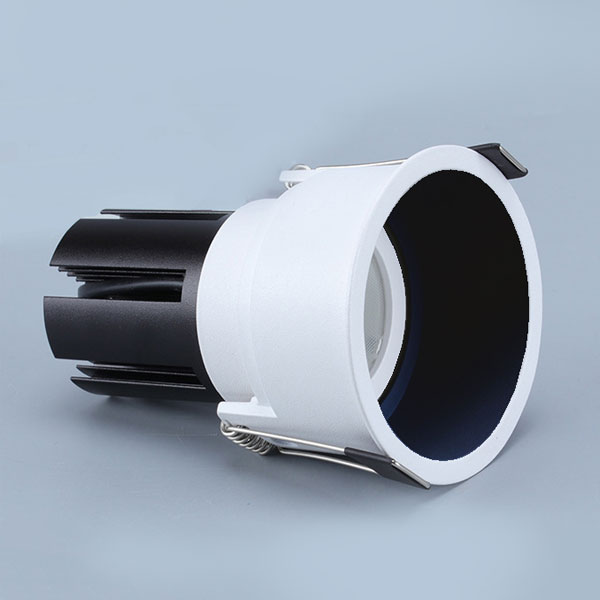 WAH2 slim trim downlight with black reflector
