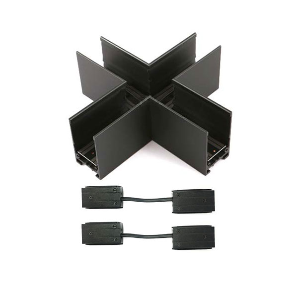 BLTL-MAG-XJ X-shaped Joiner for Magnetic Tracks