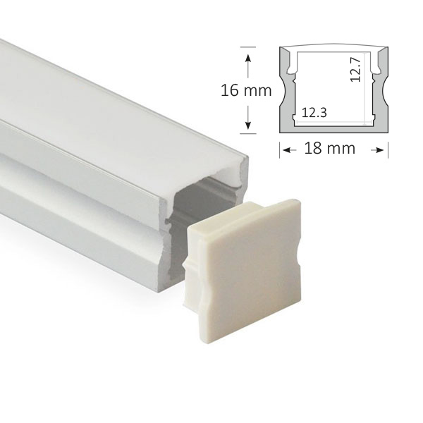 LED Low Profile Extrusion, 004