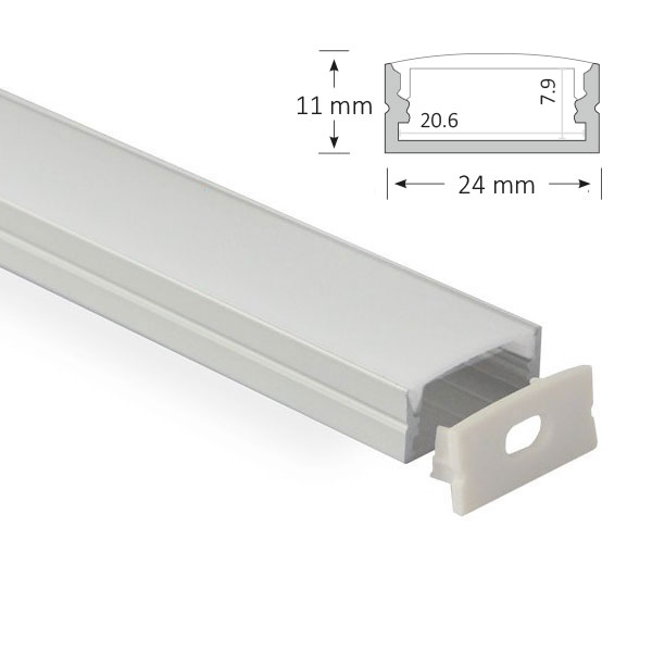 LED Surface Mounted Extrusion, 014