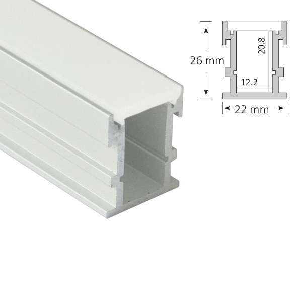 Recessed Floor Extrusion, 049-R
