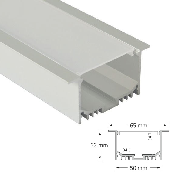 BLEX-053-R recessed strip diffuser project