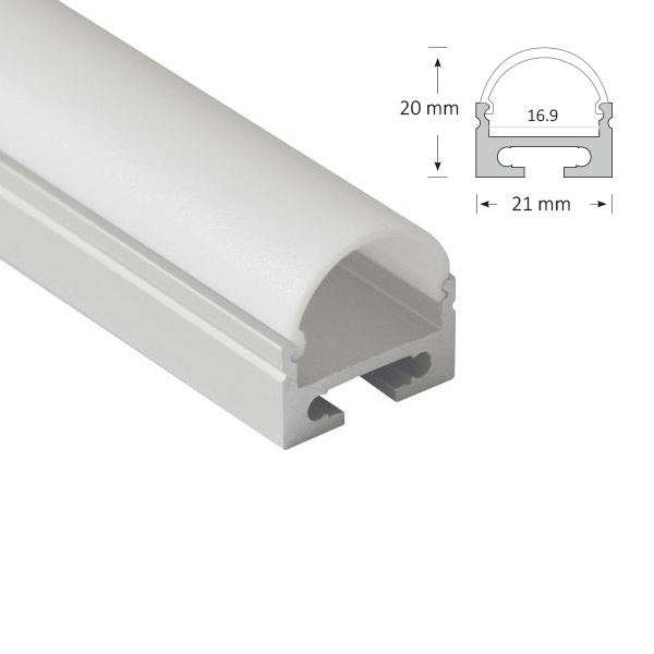 LED Mounted Extrusion, 056